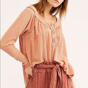 Free People Must Have Henley Top Size XS